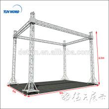 Aluminiumbindersystem, heller Bolzenbinder, Zapfenbinder für Messe, Bühne, Dach, Turm