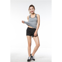 Polyester Tank Tops Sport Fitness Tops For Women