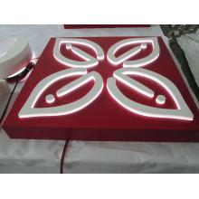 LED-Beleuchtungs-Kasten-Anschlagtafel im Freien, die für Shops verwendet