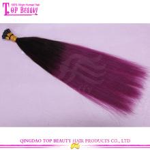 Прохладный ombre два тонированное я Совет наращивание волос Оптовая производители