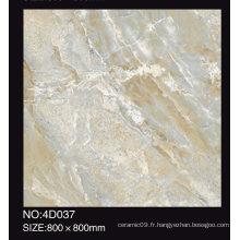 Sélection populaire 600X600 800X800 mm Impression jet d'encre Marbre Tiles