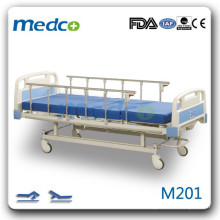 M201 Two cranks hospital room bed