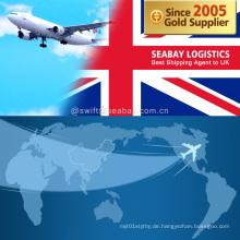 Professionelle Luftfracht nach UK / London