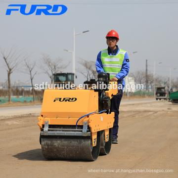Mini compactador de rodas de aço hidrostático (FYLJ-S600C)