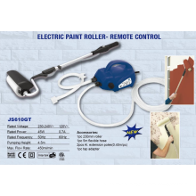 JS DIY escova elétrica rolo de pintura com escova JS610GT