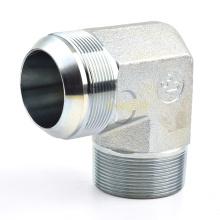 Vente chaude personnalisé connecteur hydraulique de mamelon de tuyau mâle NPTJIC