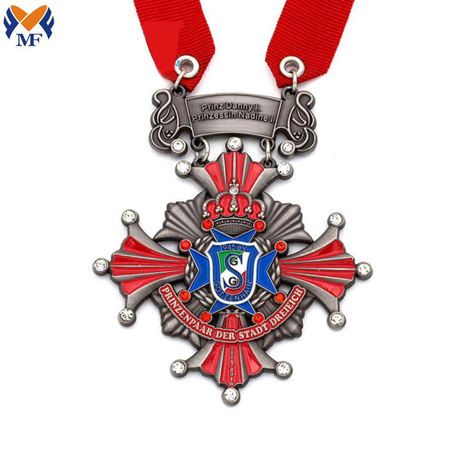 Metal Diamond Medal