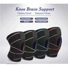 Patellar silica gel shock absorption Knee brace