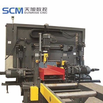 Canal UIH Beams Drilling Machine