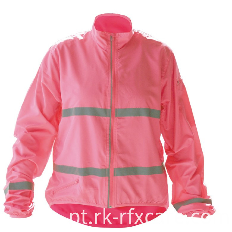 Jacket with Reflective Strips