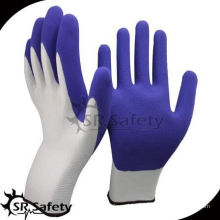 SRSAFETY дешевые перчатки / 13g нейлоновые трикотажные латексные латексные перчатки / перчатки