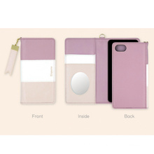 New Arrival Japan Multifunction Wallet Card Mobile Back Cover Pu Leather Mobile Phone Case