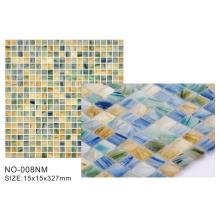 Frosted series matt glass mosaic tiles