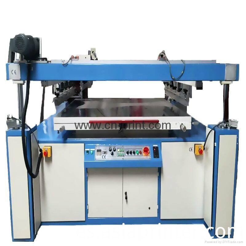 large size plane screen printing machine