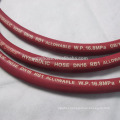 Red Cloth Covered SAE Standard High Pressure Braided Hose
