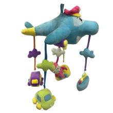Plüsch-Flugzeug-hängende Dekoration