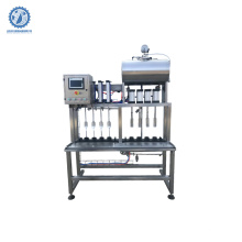 multi head small bottle filling machine capping