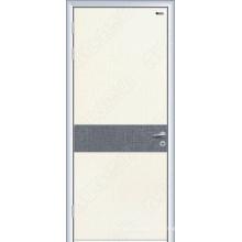 Porte en bois avec verre trempé, exportation de portes en bois,