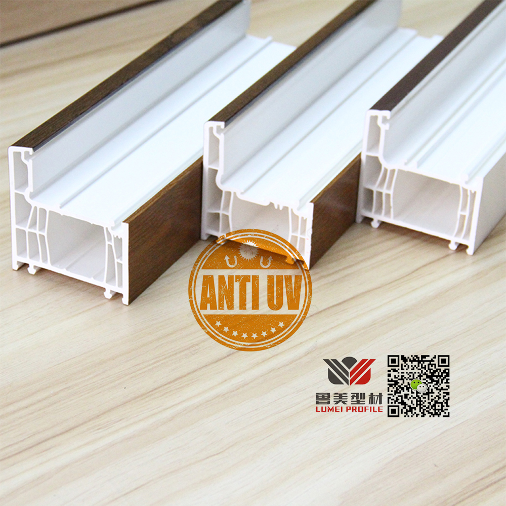 Anti Uv Upvc Window Profiles