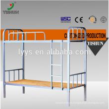 new design metal bunk bed/steel double bed furniture