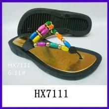 Sandalias de la playa de la plataforma del soplo de aire del PVC sandalias de la manera de la sandalia de la playa