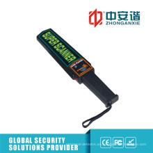 Seguridad Escolar No-Ciegos Light Light Digital Detector de Metal Portátil