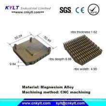 Детали радиатора с механической обработкой алюминия с ЧПУ
