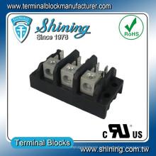TGP-085-03A 600V 85A Bloque de terminales de distribución de energía LED de 3 polos