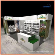 Design e construção de stands para feiras e exposições