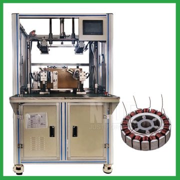 New energy vehicles wheel motor stator winding machine