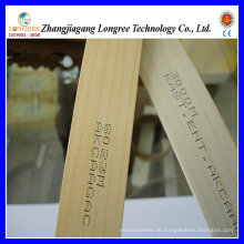 PVC-Kantenanleimung mit Holzmaserung