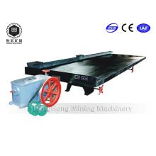 Table de secouage de machines minières pour séparateurs minéraux pour le traitement du minerai d'or