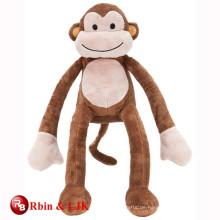Treffen Sie EN71 und ASTM Standard Plüsch Affen langen Arm