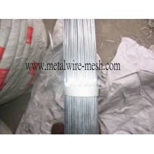 2.4X3.0mm Oval Galvanized Wire for Farm Fencing