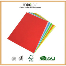 A4 10 Colors Mixed Color Pape Copy Paper for Office Use