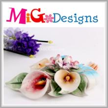 New Custom Ceramic Flower Home Decoration