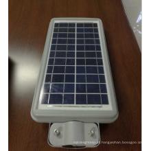 10w mini tudo em uma luz de rua solar conduzida
