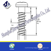 Carbon Steel High Low Thread Self Tapping Screw