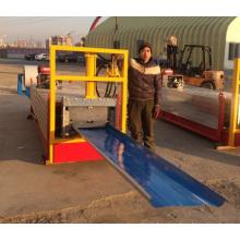 Maquina Roladora de laminas KR 476 Perfiladora KR Maquina Formadora de Lamina de acero engargolada