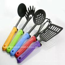 Meilleure vente de produits de cuisine articles ménagers en silicone coloré (ensemble)
