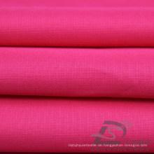 Wasser & Wind-resistent Outdoor Sportswear Daunenjacke Gewebte Pongee Pfirsich Haut Plaid Jacquard 100% Polyester Stoff (63028)