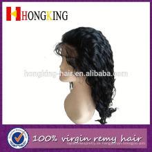 Cabello humano de la peluca delantera del cordón del pelo humano moderno para las mujeres negras