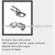 terminal tubular de cobre
