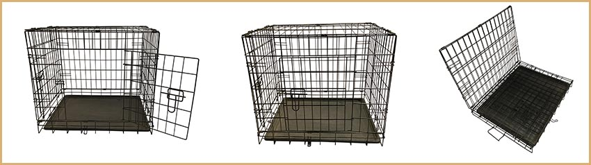 pet wire mesh dog cage