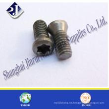 Tornillo Torx de acero al carbono o acero inoxidable T8