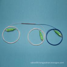1*2 Singlemode Fiber Optic Coulper Fbt with Steel Tube Package