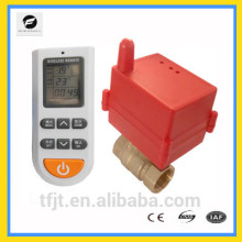 DC12V DC24V brass Wireless temperature control valve