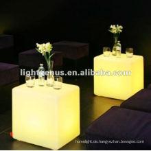 40 cm PE Material Farbwechsel Wohnzimmer LED Stuhl