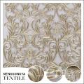 Nueva llegada de alta calidad de moda soluble en agua tela de bordado de la boda