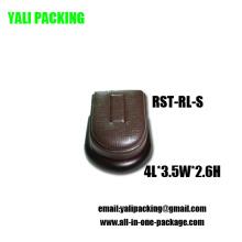 Fabricante del soporte de exhibición de la joyería de la PU de Brown (RST-RL-S)